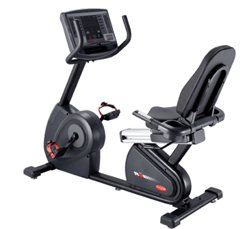 Vélo Semi-Allongé Professionnel Circle Fitness R8 Ecran LED