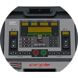 Console Tapis M7-Luxury Circle Fitness